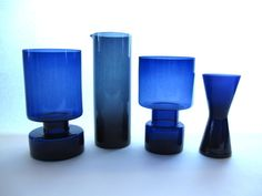 Collection of Kaj Franck Glass (Nuutajärvi Notsjö and Iittala)