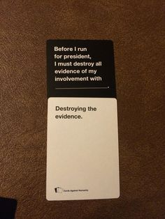 And prepared you for office is part of humor - In Cards Against Humanity, there are ONLY wrong answers Stupid Funny, Funny Cute, The Funny, Hilarious, Funny Stuff, Random Stuff, Funny Things, Funniest Cards Against Humanity, Tumblr Funny