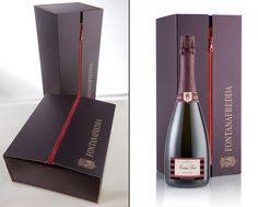 Fontanafredda packaging by Roberto Giacomucci branding