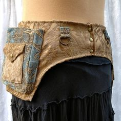 Better than a fanny pack  fabric pocket belt  by bluemoonkatherine, $95.00