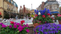 France topiaries during the 2015 Epcot Flower & Garden Festival