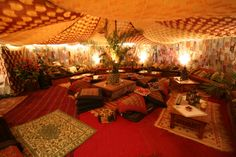 I know I'm not the only one who wants a tent room in my house...