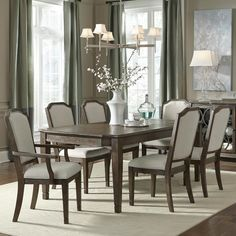 making your dining room beautiful with an espresso brown modern, Esstisch ideennn