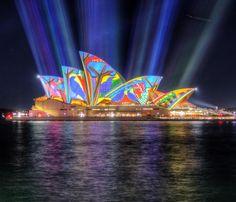 Sydney Opera House - Vivid 2016 #vividsydney @vividsydney