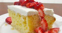 Receta para un rico pastel de tres leches, fácil y rápido - Sabrosía