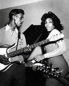 Ike Turner and Tina Turner