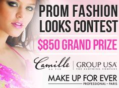 MakeupBee Competitions with Camille La Vie and Make Up Forever - ENTER NOW!