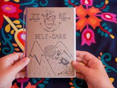 Have a gander at the interactive Intro to Self Care zine – a piece of handmade literature whipped up for those moments when your mind and body need a little extra TLC.