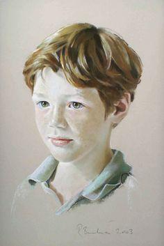 Pastel portrait  – Rob Beckett