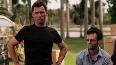 "Burn Notice 5x08 ""Hard Out"" - Michael Westen (Jeffrey Donovan) & Steve Cahill (Henri Lubatti)"