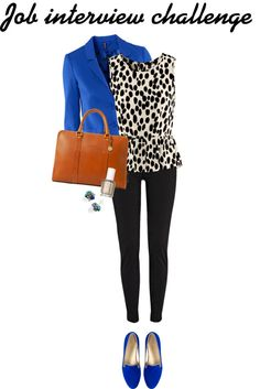 """""""Job interview"""" by pearlsandstars Good outfit Casual Outfits, Cute Outfits, Fashion Outfits, Womens Fashion, Work Outfits, Office Fashion, Work Fashion, Looks Plus Size, Professional Attire"""