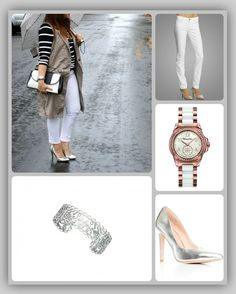 We're all putting the layers back on and dressing for fog and drizzling rain. Shop the look! #ootd --Available at My Jewellery Shop!  Thomas Sabo Glam #RoseGold watch >> http://www.myjewelleryshop.com.au/shop/products/Thomas-Sabo-Glam-Rose-Gold-Plated-White-Ceramic-White-Dial-Gp-Sun-Seconds-Hand-Stone-Set-Bezel-Watch-(001%252d019%252d03722).html