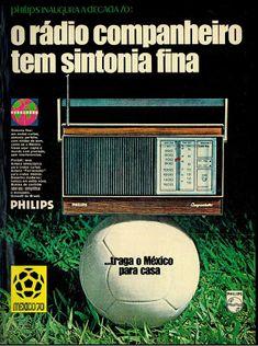 anúncio rádio philips 1970