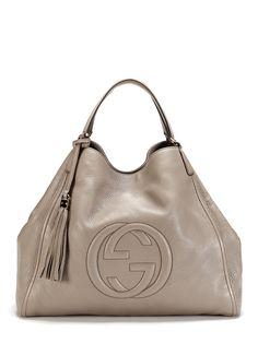 GUCCI-Soho Shoulder Bag by Gucci 2013 NICE SHAPE