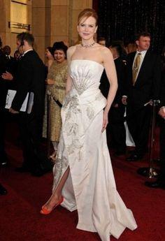 Nicole Kidman zapatos Oscar 2011