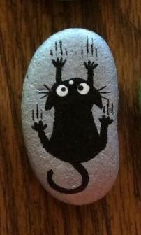 Painted Rock Animals, Painted Rocks Craft, Hand Painted Rocks, Painted Rock Cactus, Painted Pebbles, Painted Stones, Rock Painting Patterns, Rock Painting Ideas Easy, Rock Painting Designs