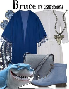 Fish are friends not food! Bruce outfit | Disney Fashion | Disney Fashion Outfits | Disney Outfits | Disney Outfits Ideas | Disneybound Outfits | Finding Nemo Outfit |