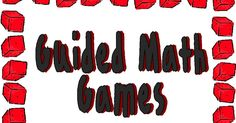 Math Games I think the key is to have enough games so that the kids do not get bored at this station. It is important to also hav...