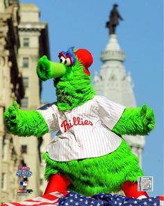 "Philadelphia Phillies Phanatic MLB Baseball 8"" x 10"" Mascot Photo"