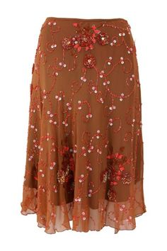 #autumndreamery - Basquesse Paseo Beaded Semicircle Skirt - Ochre @ The Dreamery     http://www.the-dreamery.com/Wardrobe/Skirts/Paseo-Beaded-Semicircle-Skirt-Ochre