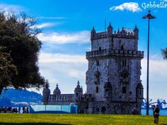 Turnul Belém alături de Mănăstirea Jeronimos,parte a Patrimoniului Mondial UNESCO. Nu ratati ofertele noastre pentru Portugalia aici: Tower Bridge, Transportation, Travel, Viajes, Destinations, Traveling, Trips
