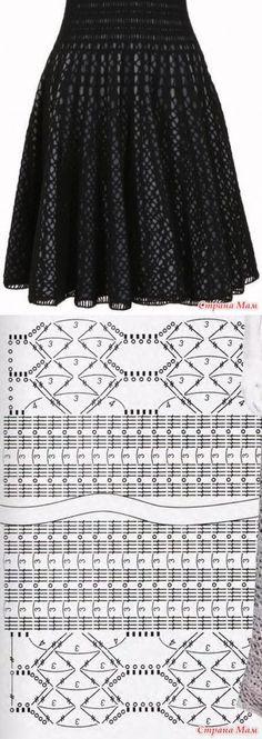 Интересное платье - Вязание -