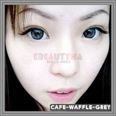 Cafe-waffle-grey Grey Contacts, Colored Contacts, Circle Lenses, Waffle, Tinted Contact Lenses, Circle Glasses, Color Lenses, Colored Eye Contacts, Color Contacts