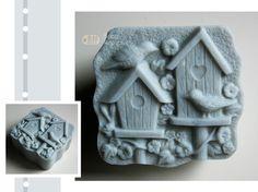 Birdhouses Silicone Soap Mold  Soap Republic  by soaprepublic
