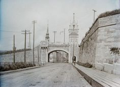 Images de Québec vers la fin du XIXe siècle. - Images of Quebec in the late nineteenth century.