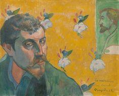 Autoportrait : Les Misérables, par Paul Gauguin