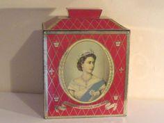 Royalty - Queen Elizabeth II Coronation Souvenir Tea Tin 1953