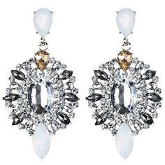 3.74$  Watch here - http://dif7u.justgood.pw/go.php?t=207293101 - Artificial Gem Rhinestone Drop Earrings