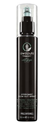 HydroMist Blow-Out Spray™  Style amplifier - Weightless hold    Ideal blow-dry prep with long-lasting volume  Weightless, touchable hold  Awapuhi and honey extract help balance moisture