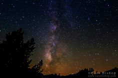 The Milky Way above Dusy Basin, Kings Canyon National Park, California USA / Click image to purchase a print or license