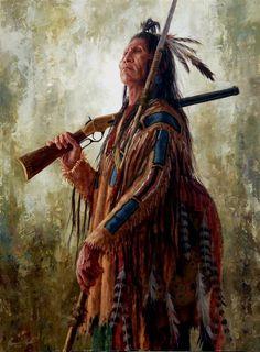 Warrior of Grand Stature   Crow   James Ayers Studio