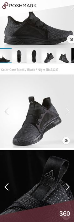 Adidas Edge Lux Women's Running Shoes Current Adidas product: Adidas Women's running shoes with bounce soles. Purchased new, and worn once. These shoes fit true to size. adidas Shoes Athletic Shoes