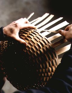 I just love this photograph!    Jonathan Kline, Basketmaker - Country Living