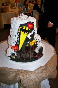 Batman wedding cake Dawn's little cakes Cakes orillia