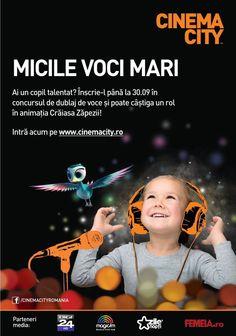 Cinema City Micile Voci Mari 2 Trends Magazine, Cinema, Film, Movies, Movie Posters, Movie, Films, Film Stock, Film Poster