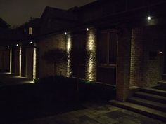 Wall washing super bright leds light your garage in - Exterior soffit lighting spacing ...