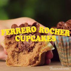 Ferrero Rocher Cupcakes recipe More