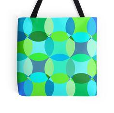 Fun with Blue - Tote Bag - http://annumar.com/en/designs/fun-with-blue-tote-bag