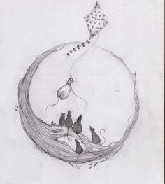 Composition, maybe not rats Pet Rats, Pets, Rat Tattoo, Dream Drawing, Fancy Rat, Rabbit Tattoos, Love Doodles, Shrink Art, Year Of The Rat