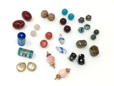 Bead pair lot, mixed matched beads for earrings and matching dangles, vintage bead pairs, unique matching beads Sweet Butter, Craft Supplies, Dangles, Vintage Jewelry, Jewelry Making, Stud Earrings, Pairs, Diy Crafts, Beads