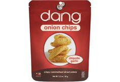 Dang Foods onion chips chipotle garlic