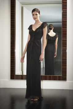 Carolina Herrera gown is available at L'elite.  617 424 1020 www.lelite.com