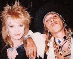 Michael Monroe Andy McCoy