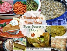 Mommy's Kitchen: Thanksgiving Recipe Round Up {32 Recipes perfect for Thanksgiving}  #thanksgiving #menu