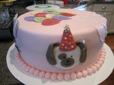 Little girl/boy birthday cake