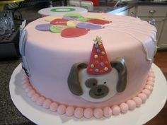 Little girl/boy birthday cake